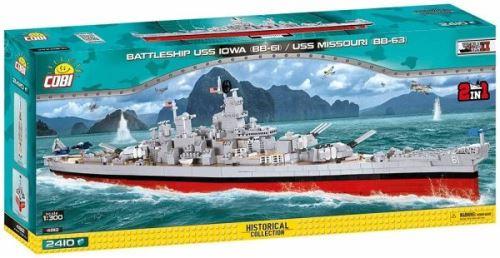 COBI 4812 WS IOWA Class USS Missouri