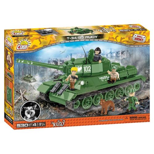 COBI -  Small Army 2486A  T34/85 Rudy