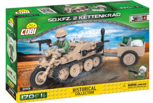 COBI - HC 2401 S.D. KFZ 2 Kettenkrad HK-1