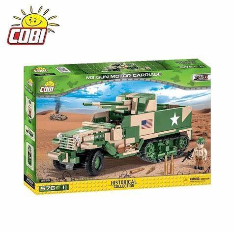 COBI HC 2535 M3 Gun Motor Carriage GMC