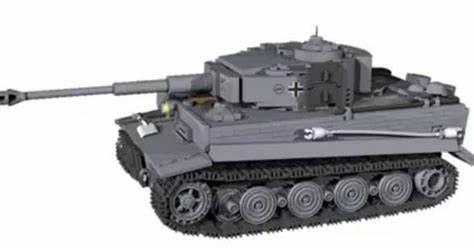 COBI HC 2538 Panzerkampfwagen VI Tiger Ausf. E