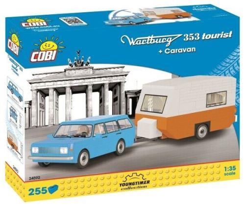 COBI 24592 Wartburg 353 Tourist + Caravan