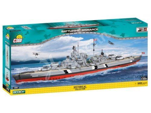 COBI Small Army 4819 Battleship Bismarck