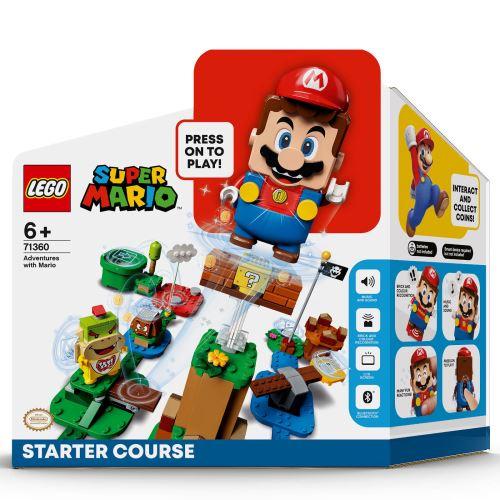 LEGO® - 71360 Super Mario Abenteuer mit Mario Starterset