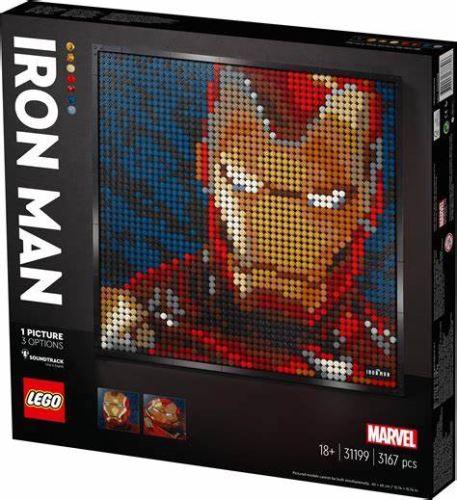 LEGO® - 31199 Art Marvel Studios Iron Man - Kunstbild