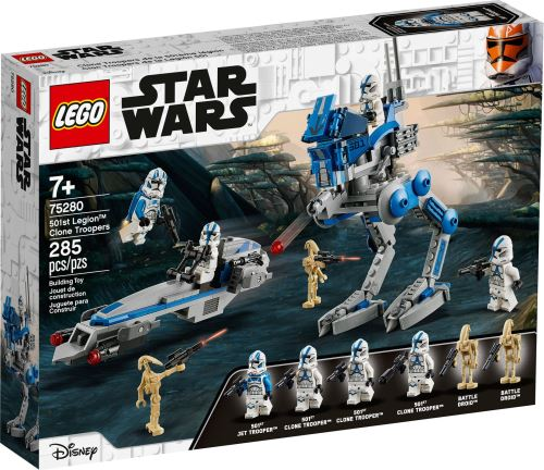 LEGO® - 75280 Star Wars Clone Troopers der 501. Legion