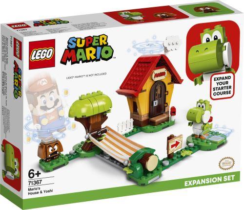 LEGO® - 71367 Super Mario Marios Haus und Yoshi Erweiterungsset