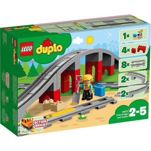 LEGO® Duplo 10872 Eisenbahnbrücke und Schienen
