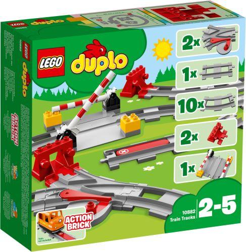 LEGO®  Duplo 10882 Eisenbahn Schienen