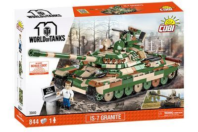 COBI World of Tanks 3040 IS-7 Granite