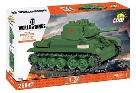 COBI World of Tanks 3061 T-34