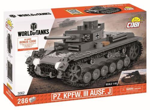 COBI World of Tanks 3062 PZ.KPFW. III Ausf. J