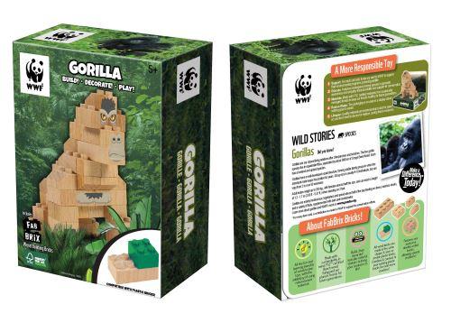 FABBRIX - WWF Gorilla