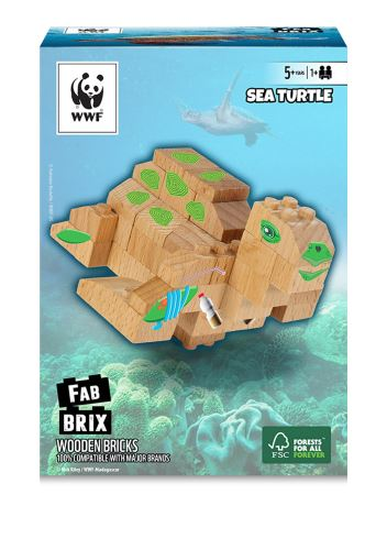 FABBRIX - WWF Schildkröte