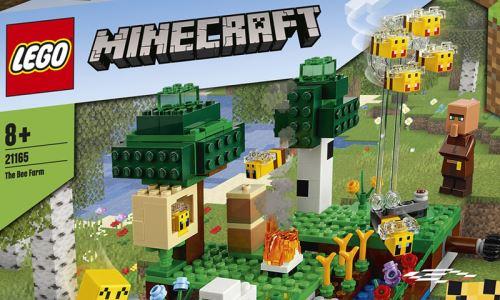 LEGO® - Minecraft Die Bienenfarm 21165