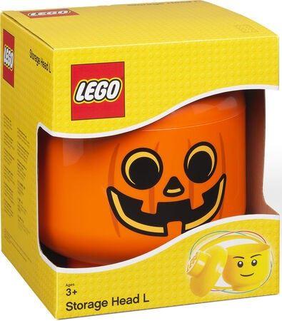 LEGO Storage 38032838A Aufbewahrungskopf Kürbis (groß)