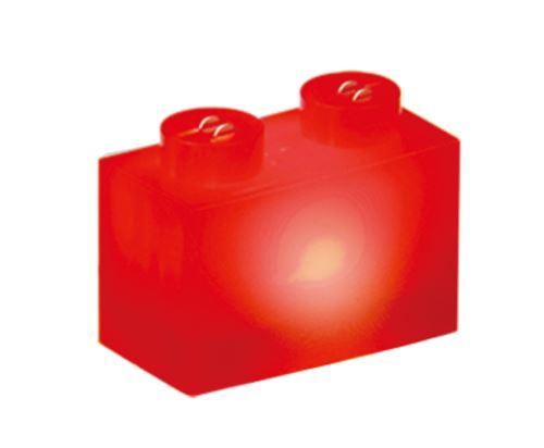 25 x STAX® 1x2 rot matt - LEGO®-kompatibel