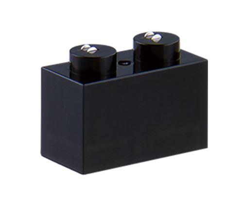 25 x STAX® 1x2 schwarz matt - LEGO®-kompatibel