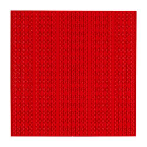 OPEN BRICKS Bauplatte 32 x 32 Rot
