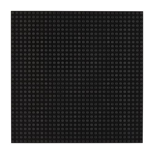 OPEN BRICKS Bauplatte 32 x 32 Schwarz