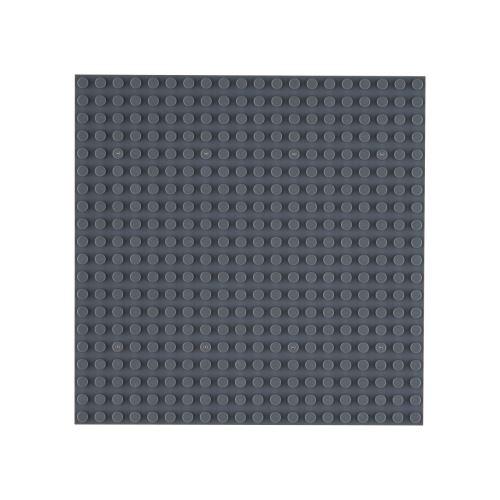OPEN BRICKS Bauplatten 20 x 20 Dunkelgrau