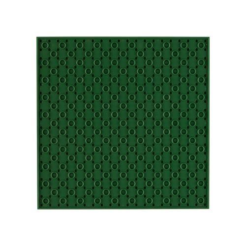 OPEN BRICKS Bauplatten 20 x 20 Olivgrün