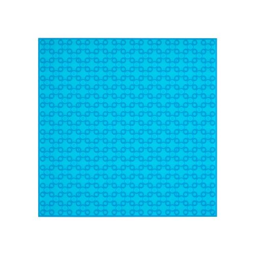 OPEN BRICKS Bauplatten 20 x 20 Transparent Blau
