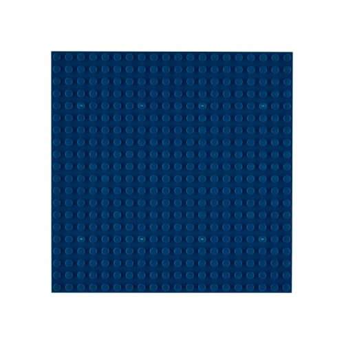OPEN BRICKS Bauplatte 20 x 20 Tiefblau