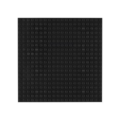 OPEN BRICKS Bauplatten 20 x 20 Schwarz