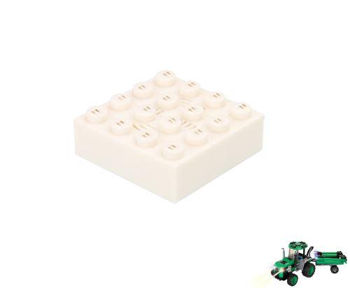 STAX ® Sound STAX 4x4 weiß Traktor - LEGO®-kompatibel