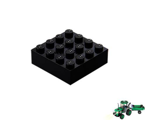 STAX ® Sound STAX 4x4 schwarz Traktor - LEGO®-kompatibel