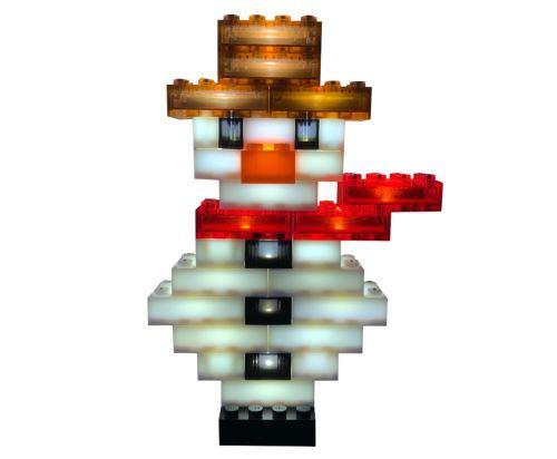 STAX® Frosty der Schneemann Adventskalenderset - LEGO®-kompatibel