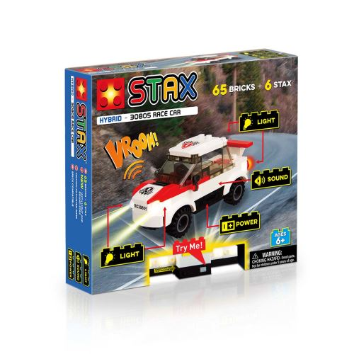 STAX® Rennwagen- LEGO®-kompatibel