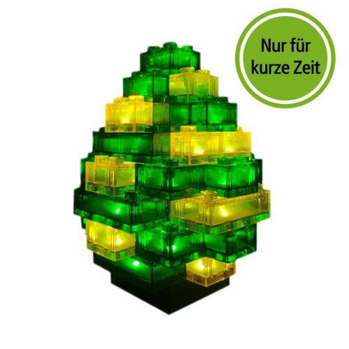 STAX® Osterei grün/gelb transparent