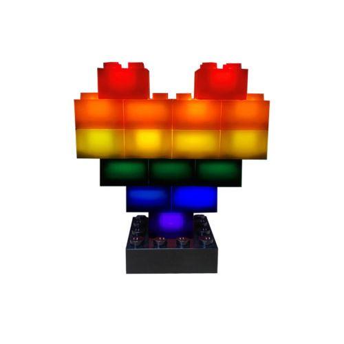 STAX ® Herz Pride - LEGO®-kompatibel