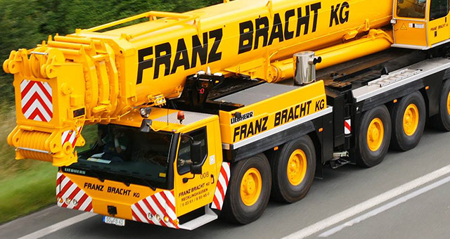 Telescopic Mobile Cranes Franz Bracht Germany