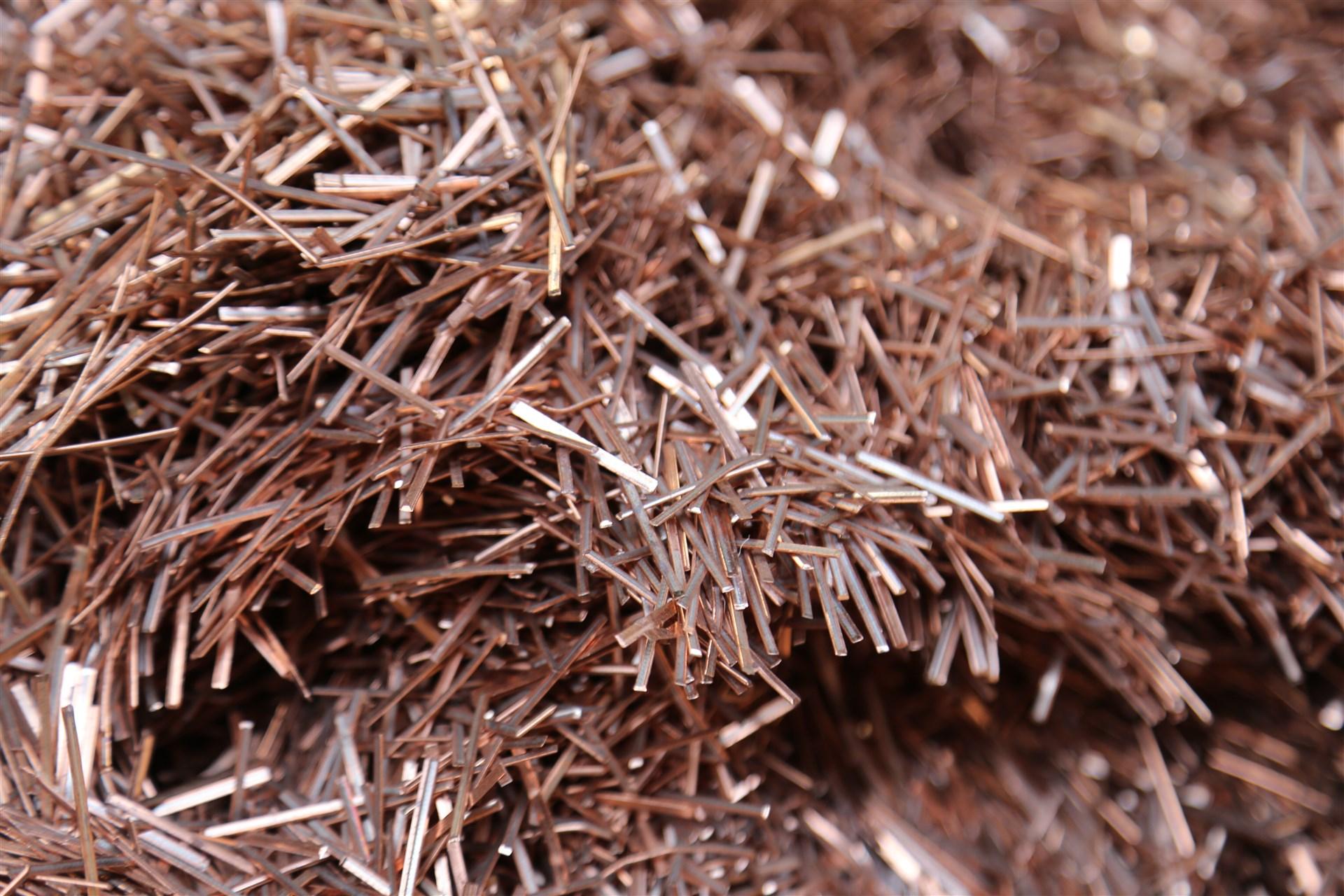 Metal Recycling Copper Granulate Copper Candy Pipe Scrap