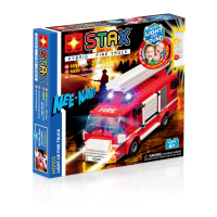 STAX Hybrid ® Light-up Fire Truck - LEGO®-kompatibel