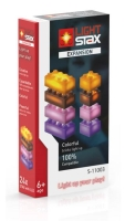 LIGHT STAX® Expansion Pack - orange, brown, purple & pink - LEGO®-kompatibel