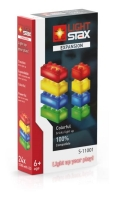 LIGHT STAX® Expansion Pack - red, yellow, blue & green - LEGO®-kompatibel