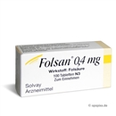 Folsan 0.4mg, 100 Stück