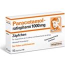 Paracetamol Ratiopharm 1000Mg Zäpfchen, 10 Stück