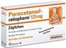 Paracetamol Ratiopharm 125Mg Zäpfchen, 10 Stück