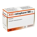 ASS ratiopharm 300mg Tabletten, 100 St.