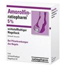 AMOROLFIN ratiopharm 5% wirkstoffhaltig.Nagellack