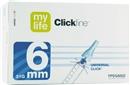 MYLIFE Clickfine Kanuelen 6 mm (31 G / 0.25 mm)