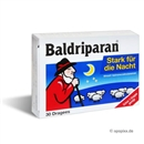 BALDRIPARAN stark f.d. Nacht ueberzogene Tabletten