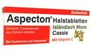 Aspecton Halstabletten Cassis, 30 Stück