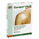 CURAPOR Wundverband transparent 10x8cm steril, 5 Stück